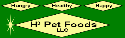 H3 Pet Foods Logo